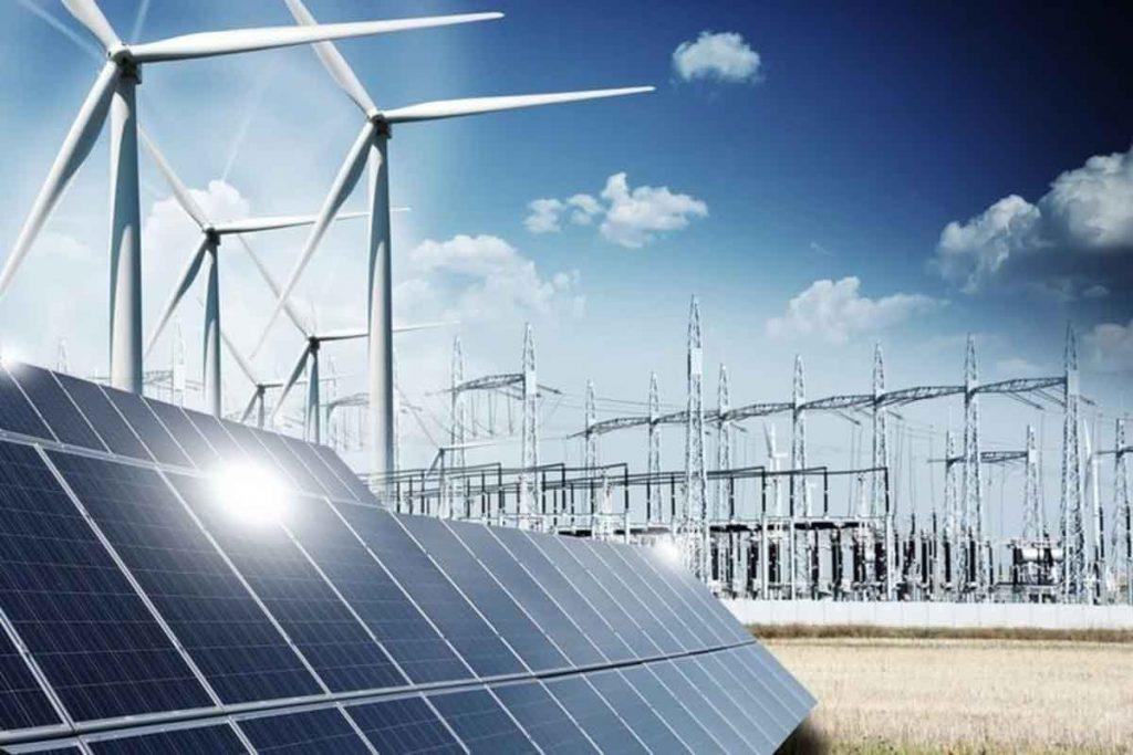 Subestación eléctrica de abasto aislado venta energía solar y eólica