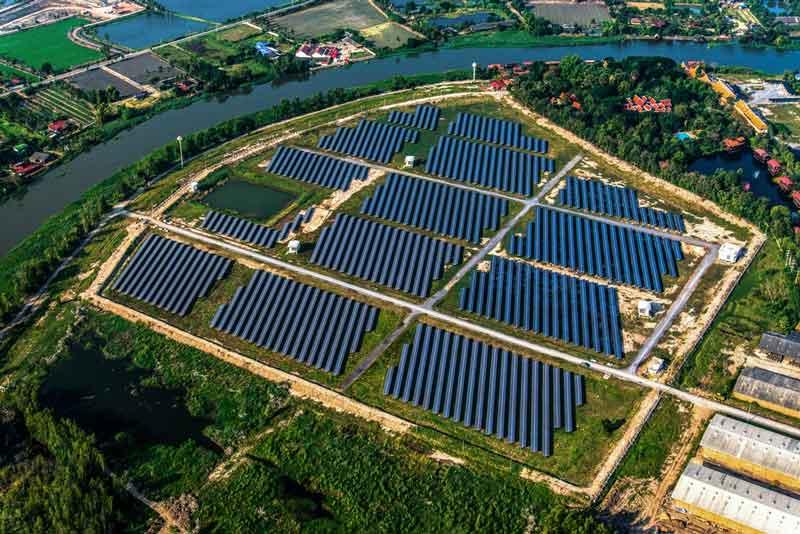 Parque Solar conectado directo a una planta industrial